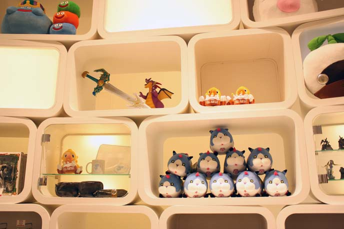 final fantasy toys, cute characters, video game store