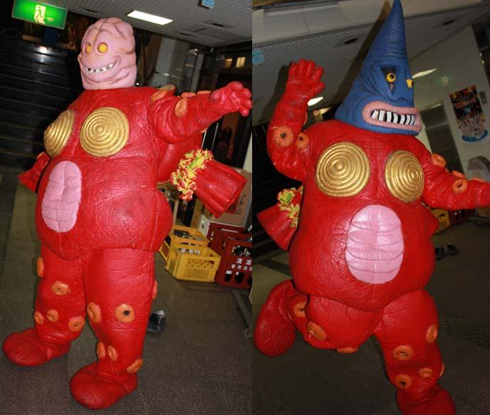 funny japanese masks, crazy halloween costume