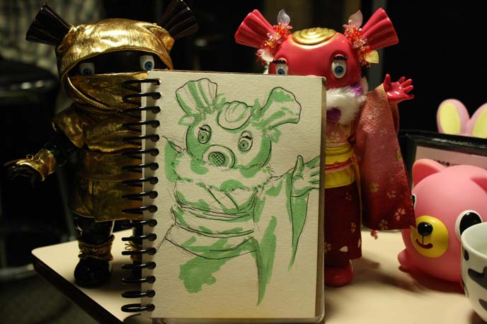 daikaiju, monster drawing, ultraman characters