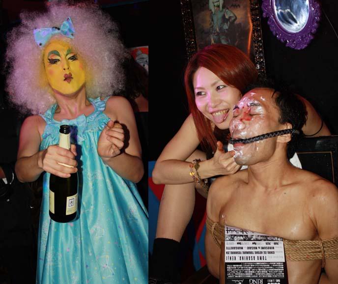 japan mistress bar, drag queen makeup
