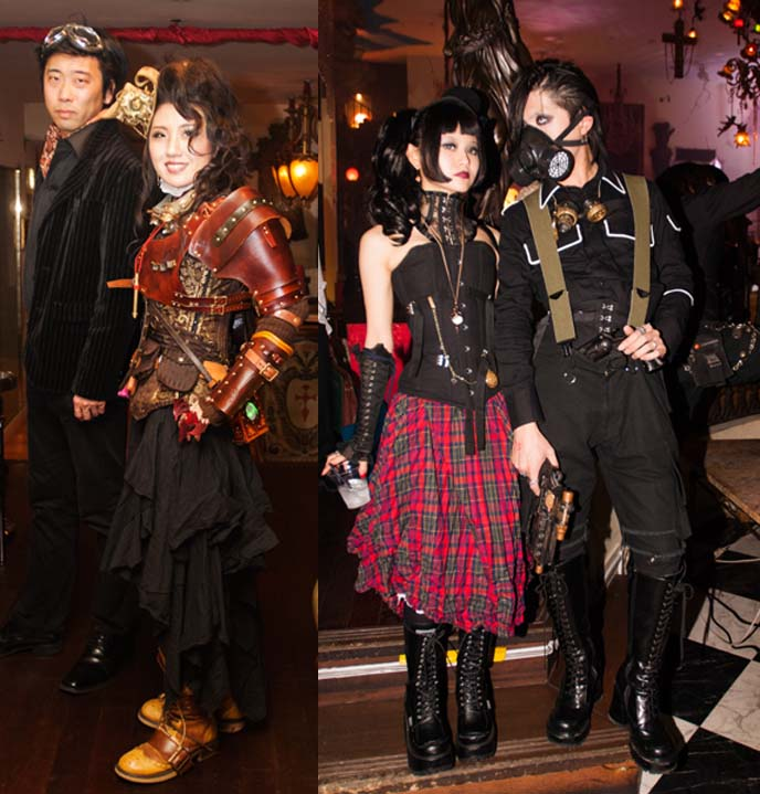 japanese steampunk fashion, tokyo victorian clothing