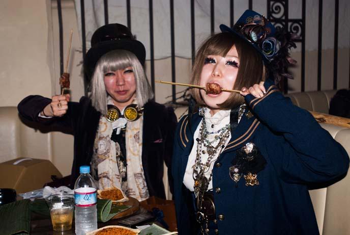 christon cafe food, tokyo steampunks