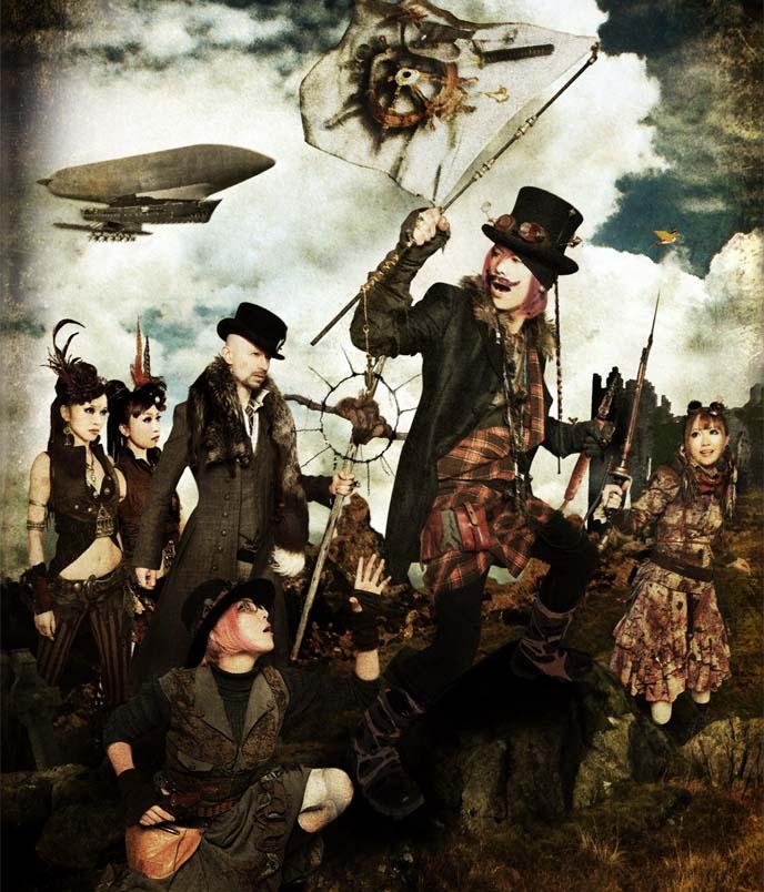 steam garden, kenny creation, tokyo steampunk party