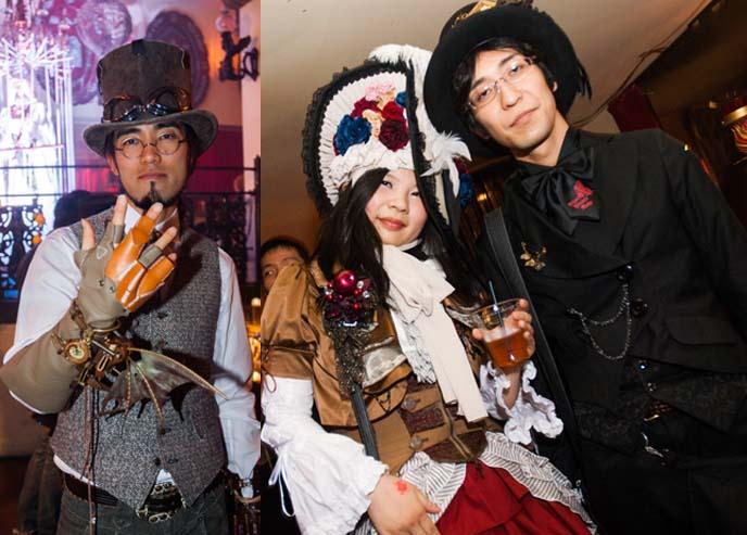 steampunk glove, handmade outfits