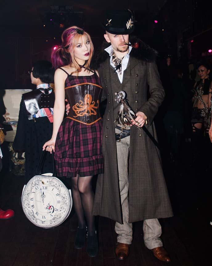 steampunk men's fashion, steampunk man, top hat