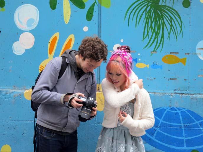rainbow mural, nakano tokyo wall, tokyo graffiti