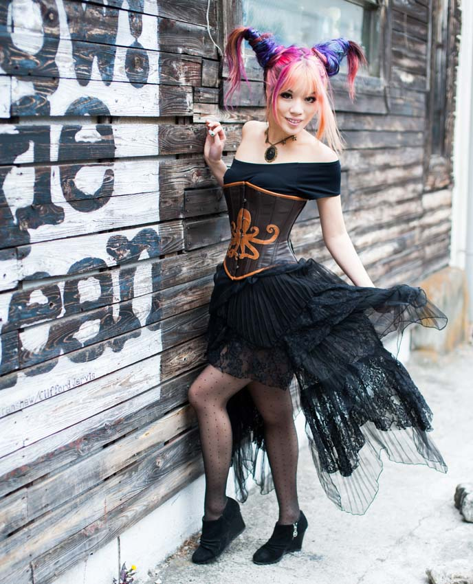 steampunk victorian, clothing, couture