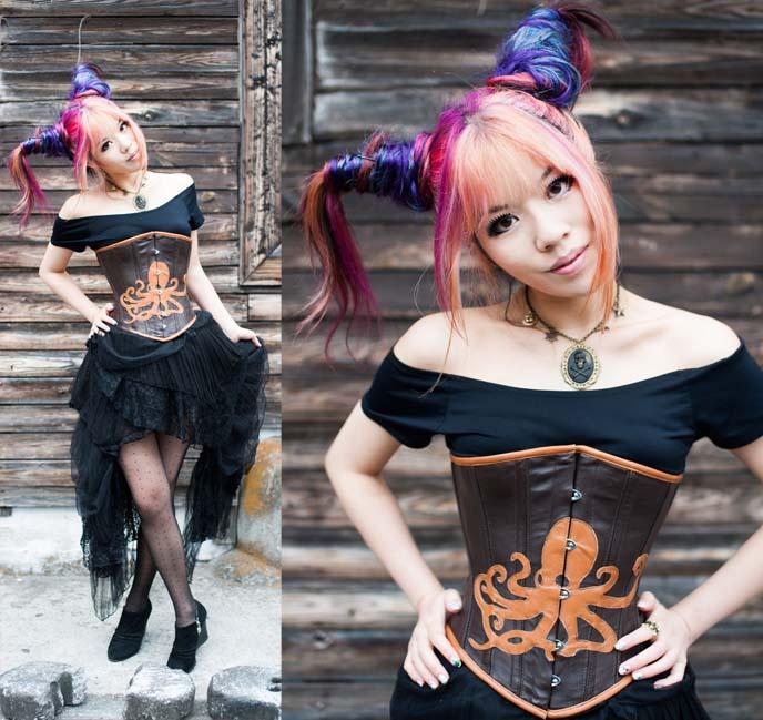 steampunk couture, fashion, clothes, steam-punk