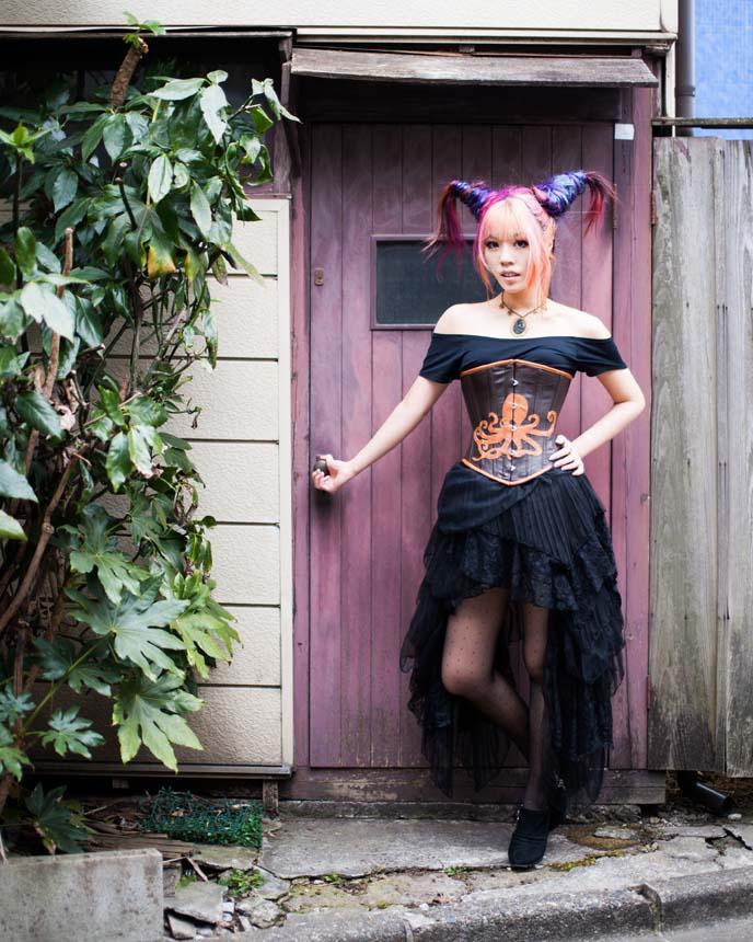 steampunk tokyo japan, steampunk fashion designer