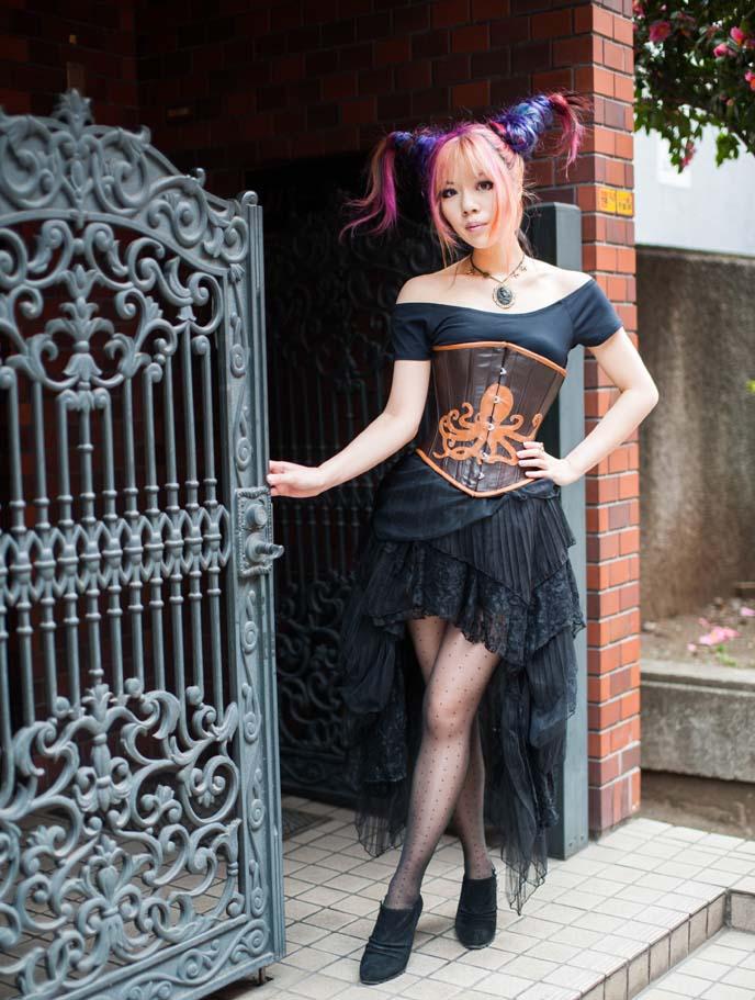 steampunk designer, model, lacarmina