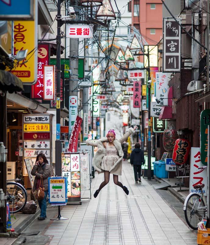 nakano streets, tokyo street signs
