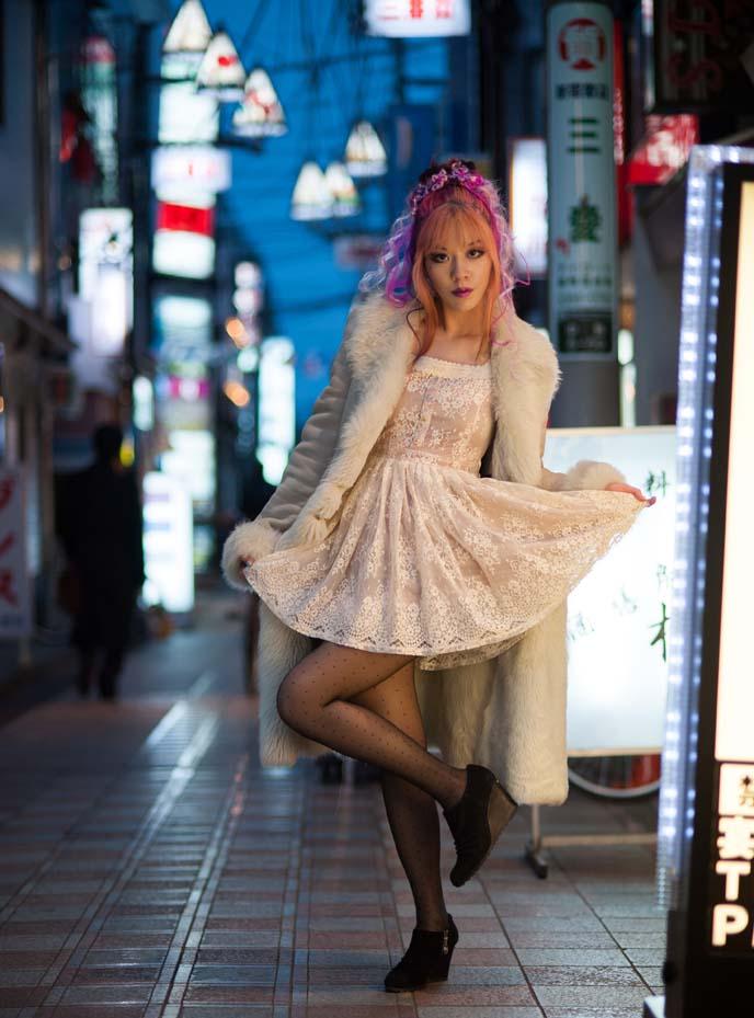 asian street signs, tokyo fashion snaps