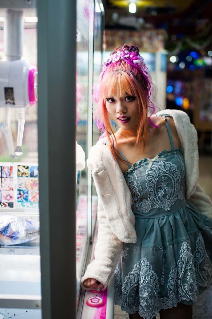 pastel pink hair, pastel hairstyle