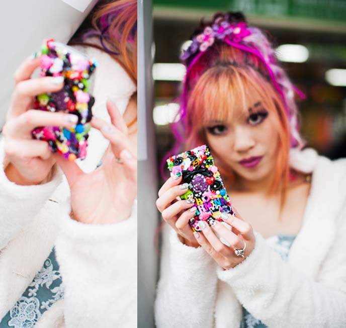 rainbow phone case, kawaii iphone cover