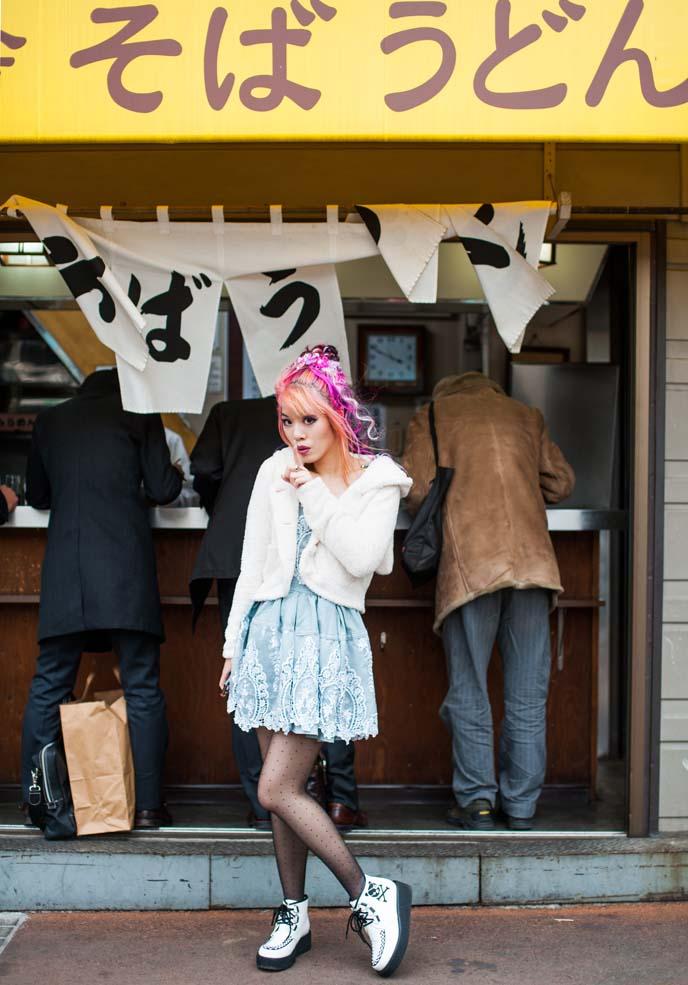 japanese ramen shop, peace now shoes