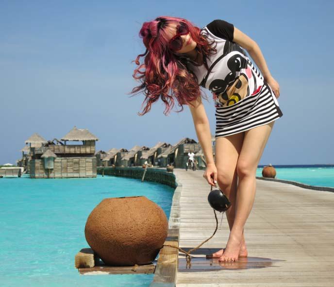 Kawaii Island Go Vacation: Travel Filming In The Maldives! Gili Lankanfushi, Eco