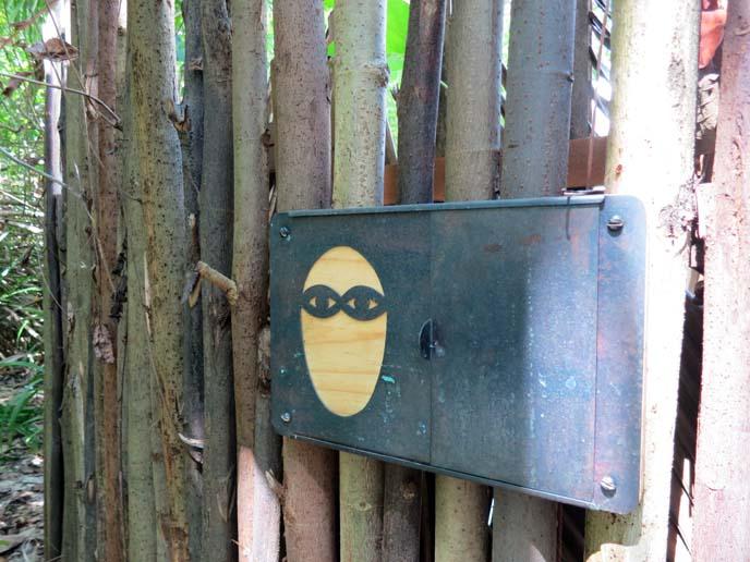 Maldives spa, bamboo wood