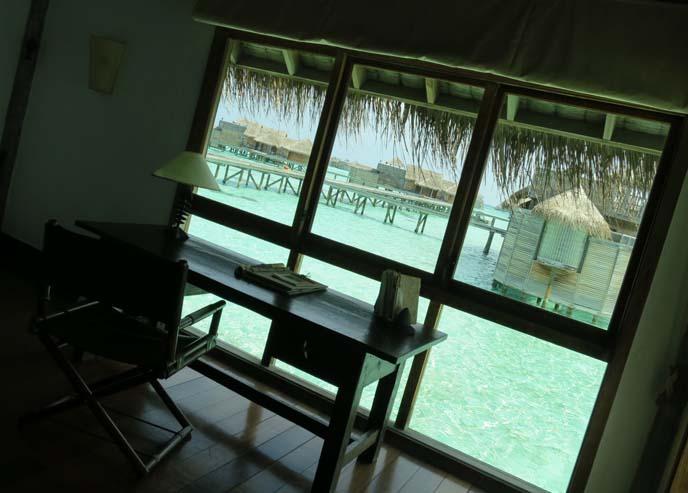 water bound villa, robinson crusoe residence