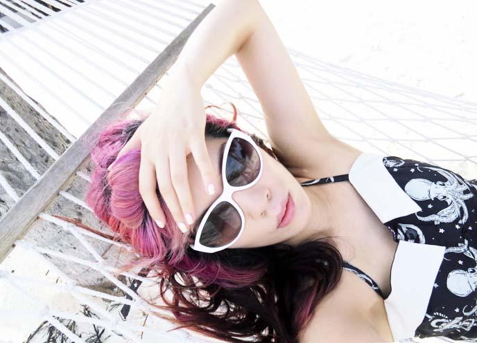 white dolce and gabbana sunglasses, sourpuss octopus dress