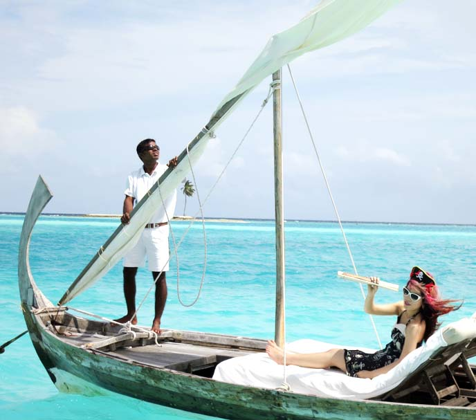 dhoni boat, maldives traditional fishing boats