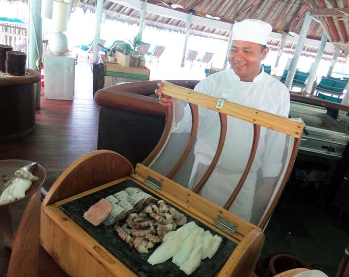 maldives restaurant, grilled seafood