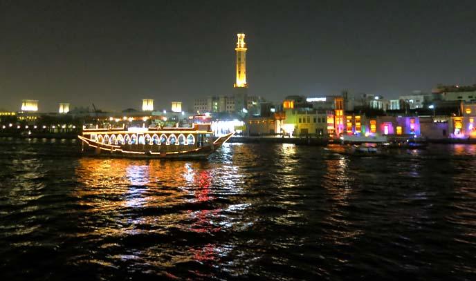 Dubai marina, boat cruise ride, boat show