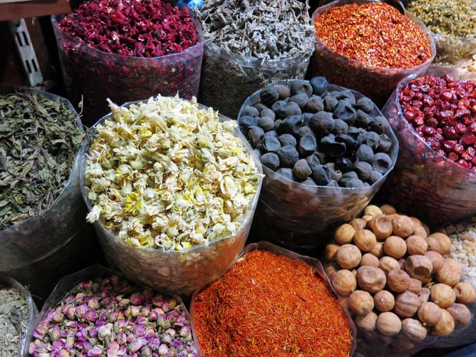 middle eastern spices, spice market dubai