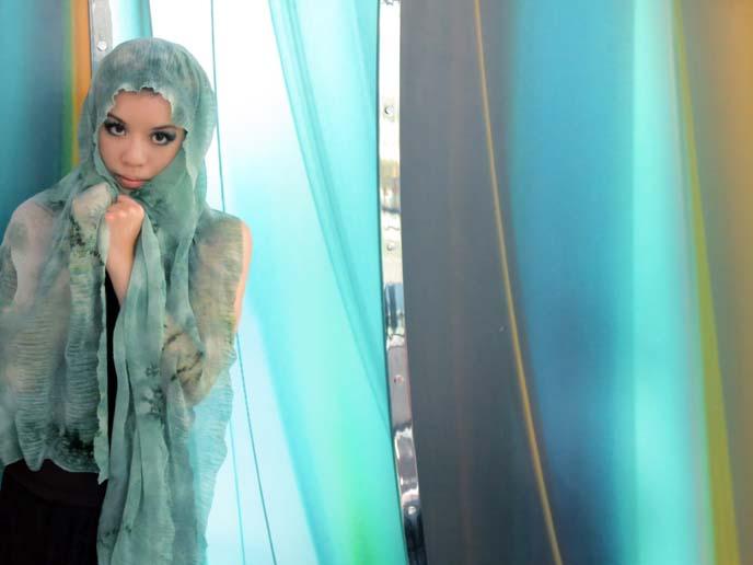 middle eastern veil, headscarf