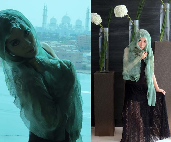 middle eastern fashion, modeling