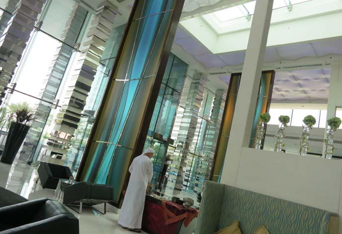 fairmont hotel abu dhabi lobby, architecture