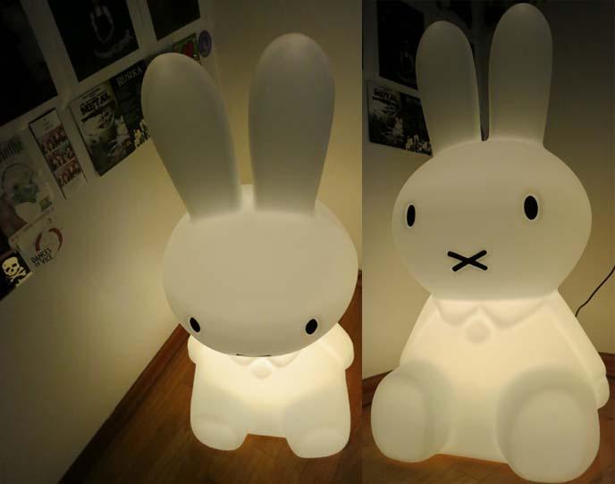 Miffy Xl Lamp From Mr Maria Dutch Design Studio Cute Nijntje Bunny Light Scottish Fold Cat