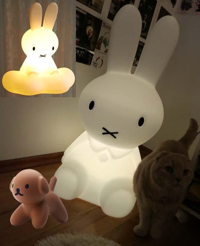 Miffy Xl Lamp From Mr Maria Dutch Design Studio Cute Nijntje Bunny