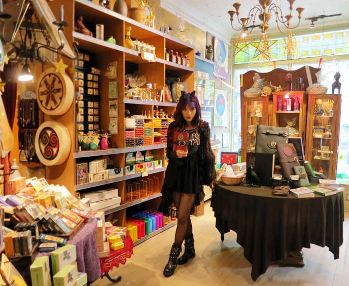 witchcraft store, new age shops