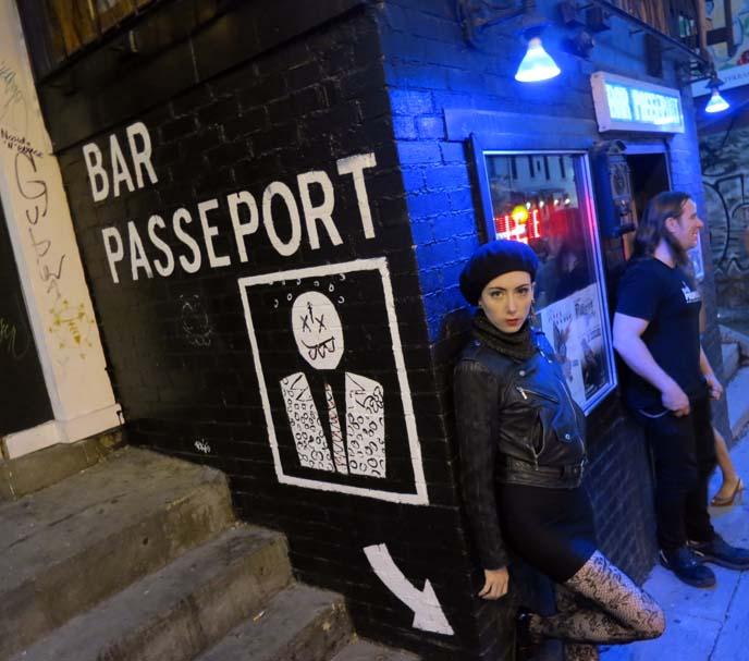 Montreal goth club, bar passeport, ebm