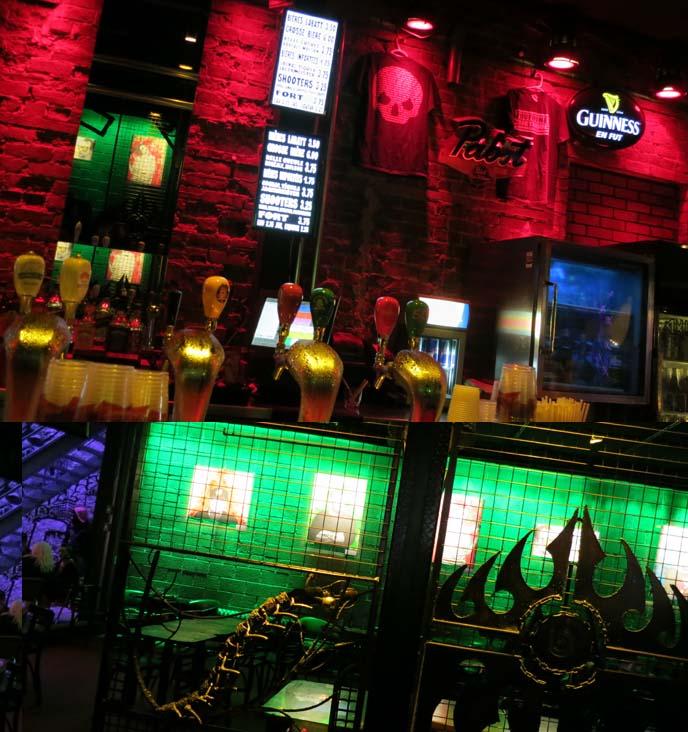 Montreal concert venue, bar, live bands