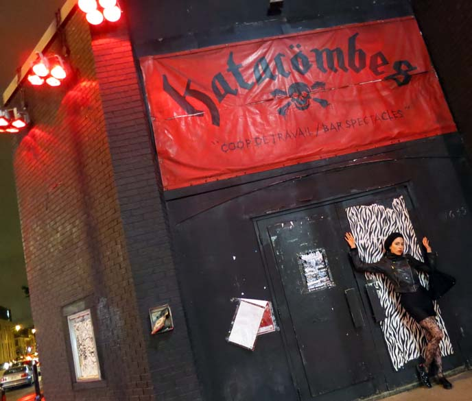 katacombes, Montreal heavy metal club