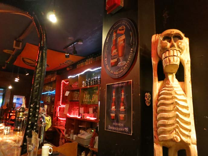 club chaos, montreal punk bar