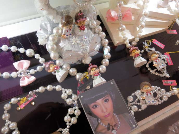 monchichi monkey jewelry, sogo department store