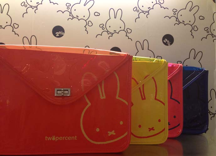 Miffy purses, hong kong world trade center