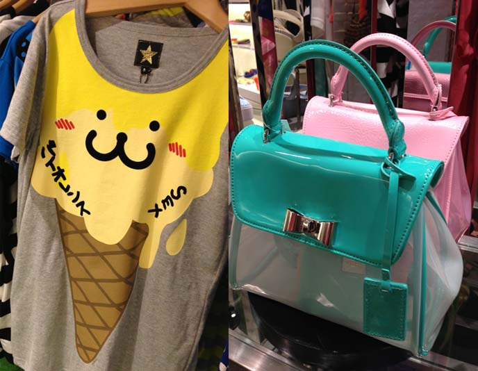 hyoma shirt, izzue clothes, pastel goth purses