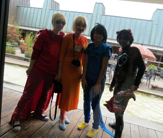 vancouver comic con, anime convention fans