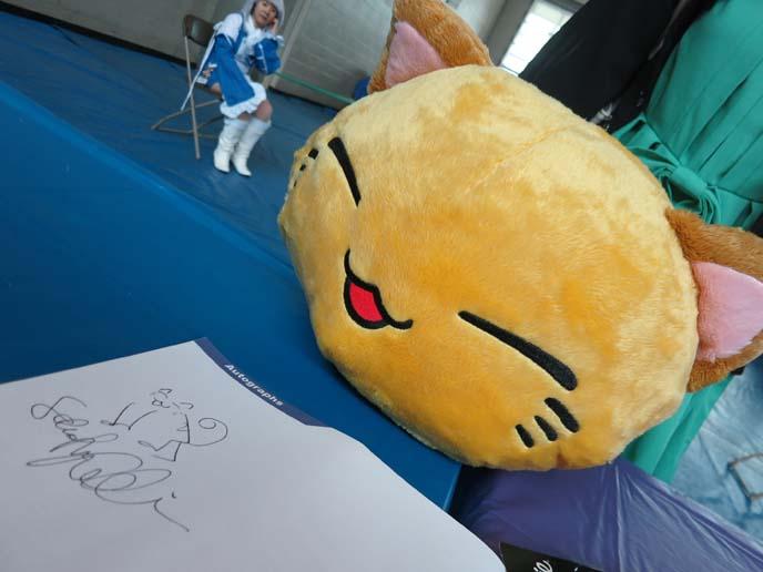 big cat stuffed toy, cat face pillow