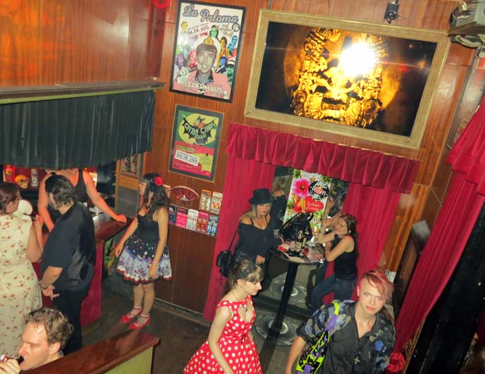 rockabilly gothic bar, burlesque Vienna