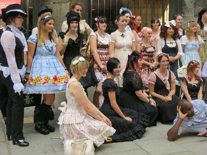 lolitas meeting, european lolis