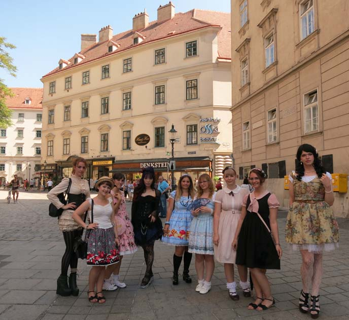 europe lolitas, subculture fashion