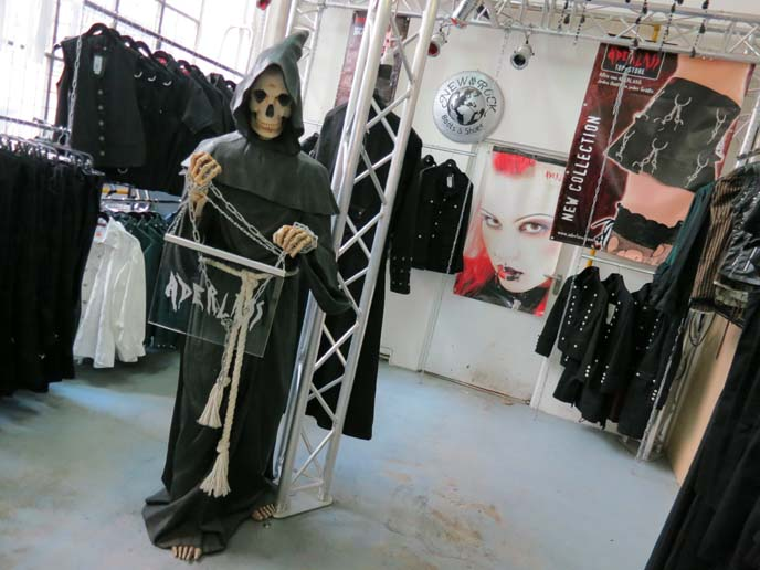 Gothic clothes store