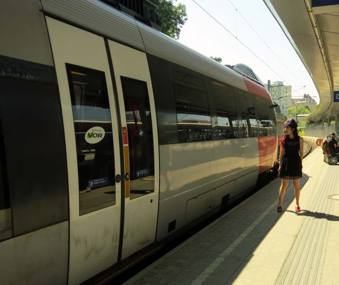 europe train station