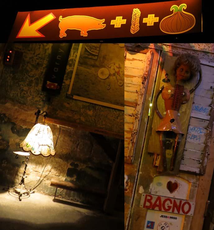 szimpla bar, ruin pub decorations