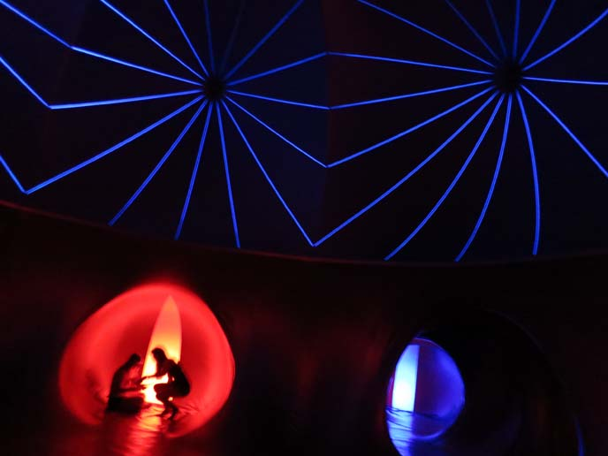 Obuda Island music festival inside luminarium
