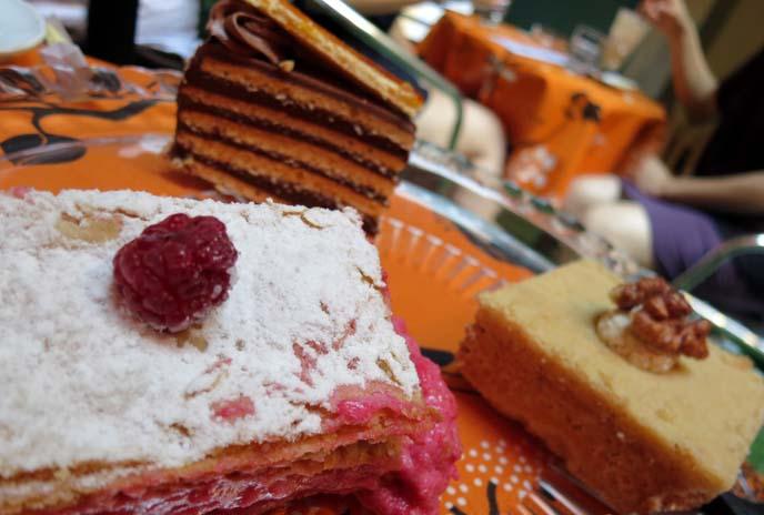 dobos cake, torta, hungarian cakes
